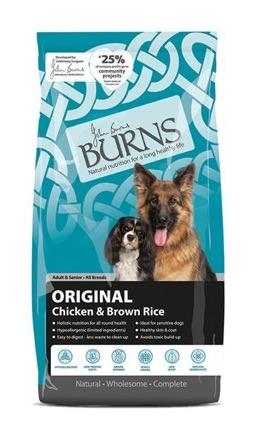Burns dog food original