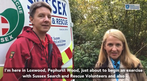 Sussex Police and Crime Commissioner Katy Bourne Interview